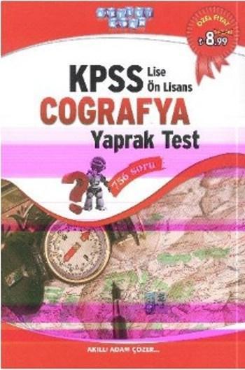 KPSS Lise Önlisans Coğrafya Yaprak Test