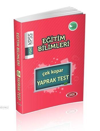 KPSS Eğitim Bilimleri Çek Kopar Yaprak Test