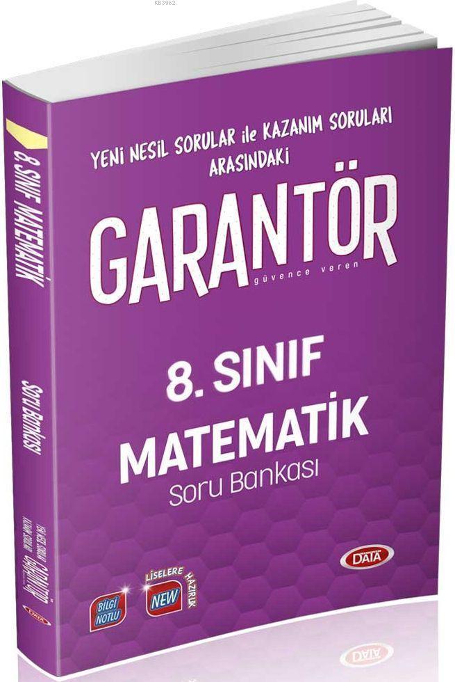 8. Sınıf Garantör Matematik Soru Bankası