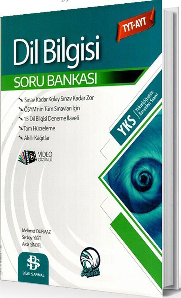 Bilgi Sarmal Yayınları TYT AYT Dil Bilgisi Soru Bankası Bilgi Sarmal