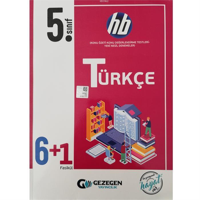 5. Sınıf Türkçe 6+1 HB
