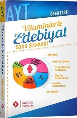 Sonuç Yayınları AYT Vitaminlerle Edebiyat Soru Bankası Sonuç