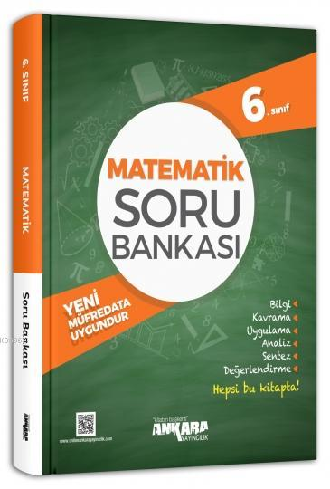 Ankara Yayınları 6. Sınıf Matematik Soru Bankası Ankara
