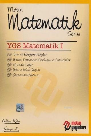 Matematik Serisi YGS Matematik I