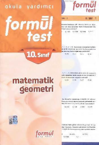 10. Sınıf Matematik - Geometri Yaprak Testler