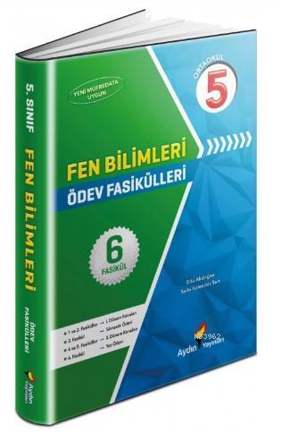 Aydın Yayınları 5. Sınıf Fen Bilimleri Ödev Fasikülleri Aydın