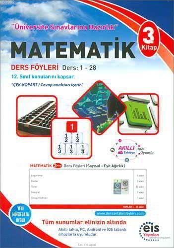 EİS Yayınları YKS Matematik Ders Anlatım Föyleri 3. Kitap EİS