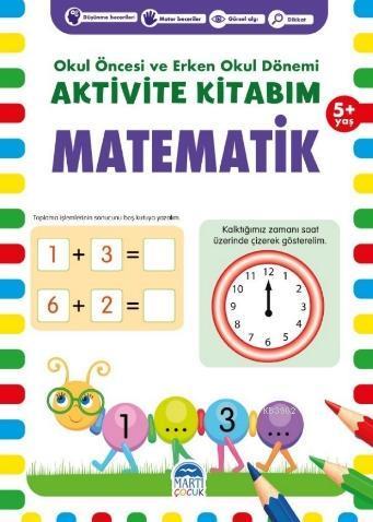 Aktivite Kitabım -Matematik ( 5+ Yaş )