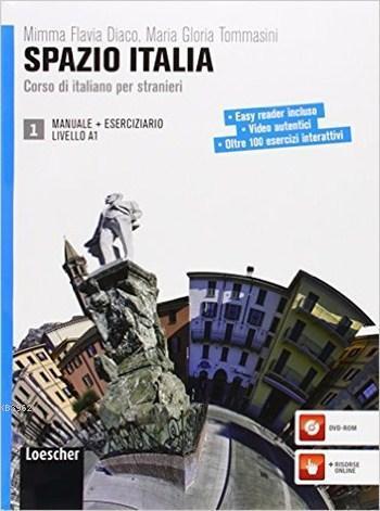 Spazio Italia Manuale 1 + Eserciziario con DVD-ROM