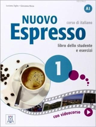 Nuovo Espresso 1 Libro Dello e Esercizi; A1 (Çalışma Kitabı) Temel Seviye İtalyanca