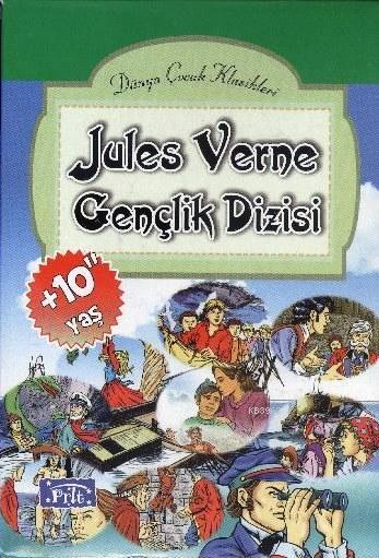 Jules Verne Gençlik Dizisi (10 Kitap-Kutulu)