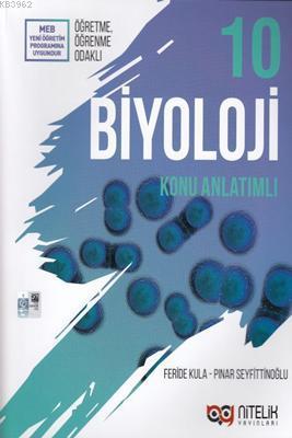 Nitelik Yayınları 10. Sınıf Biyoloji Konu Anlatımlı Nitelik