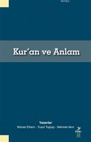 Kur'an ve Anlam