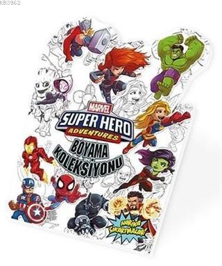 Süper Kahramanlar - Marvel Süper Kahramanlar Boyama Koleksiyonu
