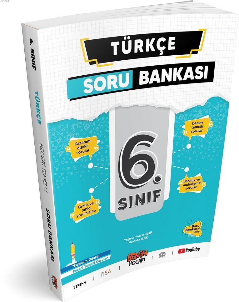 6.Sınıf Türkçe Soru Bankası Benim Hocam Yayınları