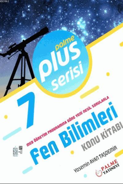 7. Sınıf Plus Serisi Fen Bilimleri Konu Kitabı