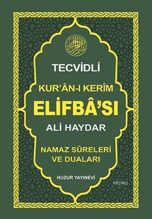 Ali Haydar Tecvidli Kur'an-ı Kerim Elifba'sı