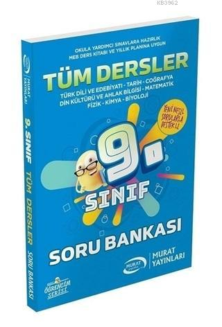 Murat Yayınları 9. Sınıf Tüm Dersler Soru Bankası Murat