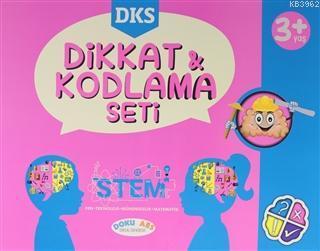 DKS Dikkat ve Kodlama Seti 3 Yaş