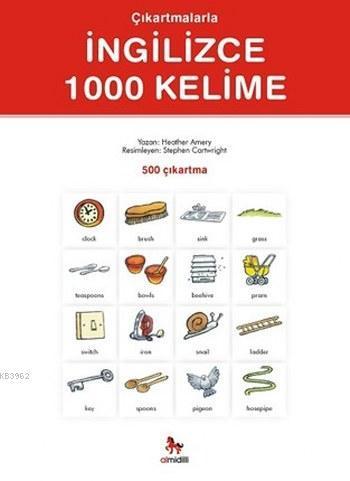 Çıkartmalarla İngilizce 1000 Kelime (500 Çıkartma)