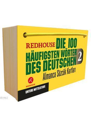 Die 100 häufigsten Wörter des Deutschen 2; Redhouse Almanca Sözcük Kartları 2 - Orta Öncesi Düzey
