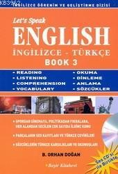 Let´s Speak English / İngilizce - Türkçe Book 3