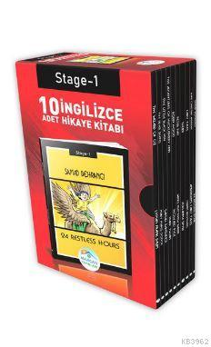İngilizce Hikaye Seti 10 Kitap; Stage-1