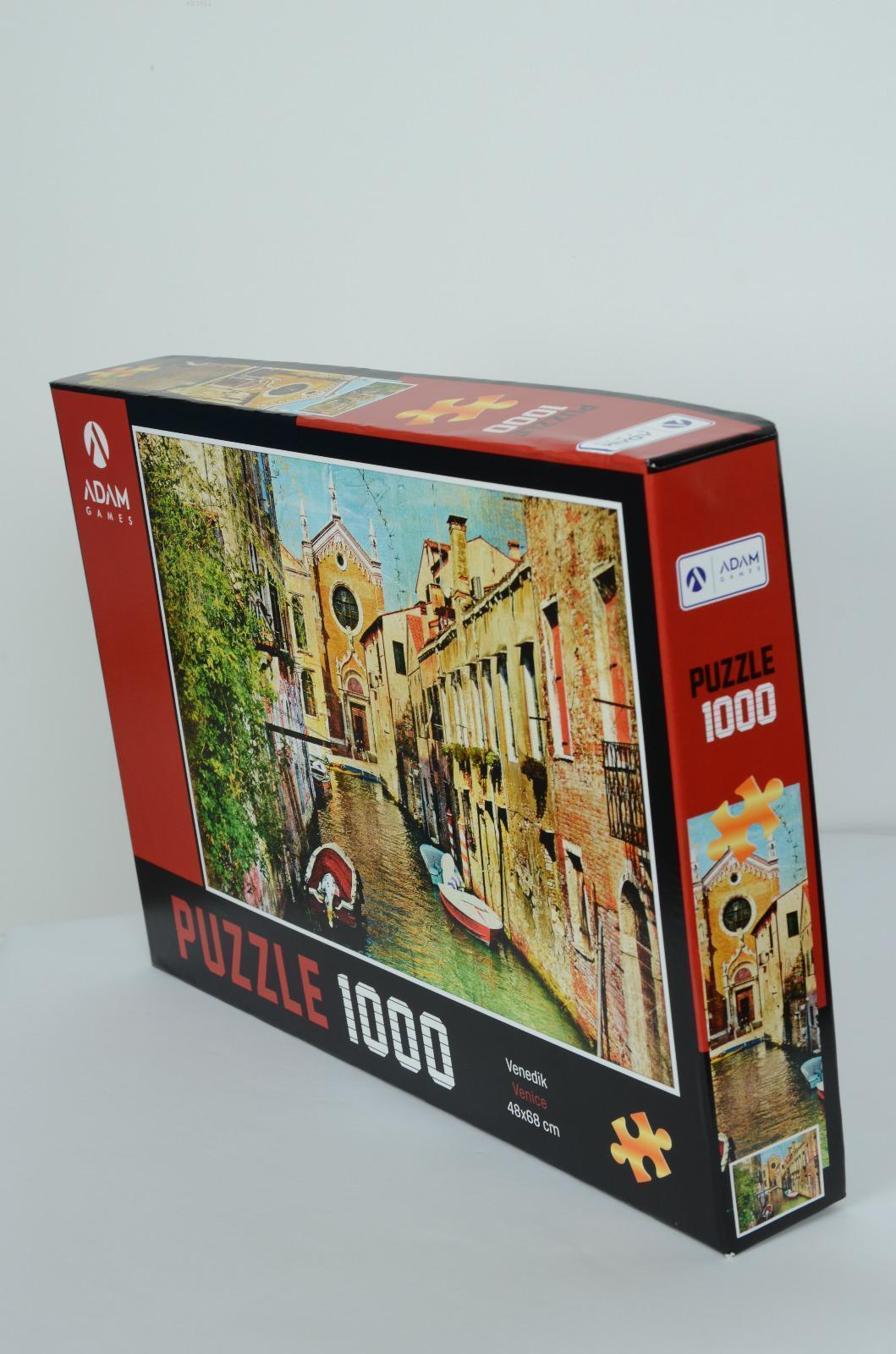 Adam Games Venedik 1000 Parça Puzzle 48x68