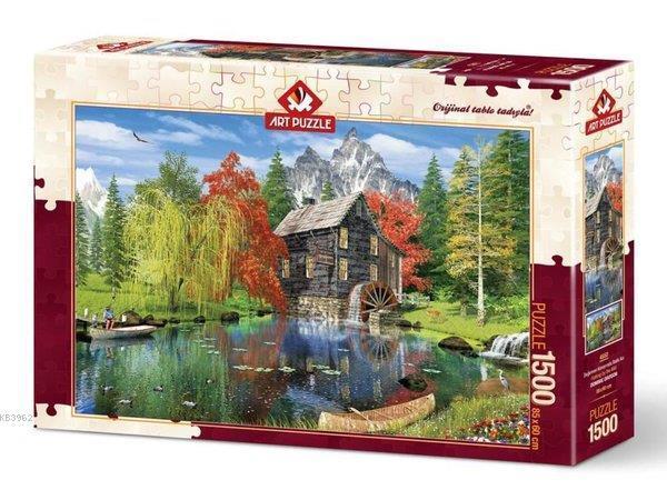 Art Puzzle 4550 Değirmen Kenarında Balık Avı 1500
