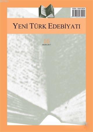 Yeni Türk Edebiyatı Sayı: 16 Ekim 2017