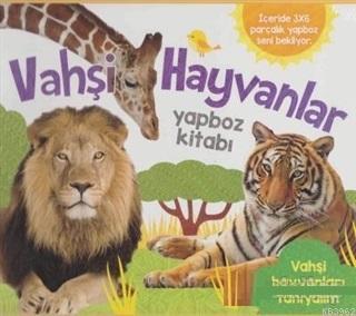 Vahşi Hayvanlar; Yapboz Kitabı