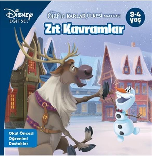 Disney Eğitsel Olaf'ın Karlar Ülkesi Macerası - Zıt Kavramlar; 3-4 Yaş