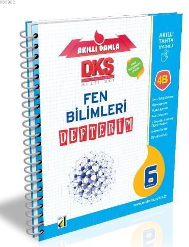 DKS 4B T.C. Fen Bilimleri Defterim - 6. Sınıf