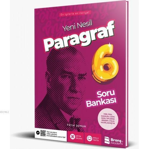 6.Sınıf Paragraf Soru Bankası
