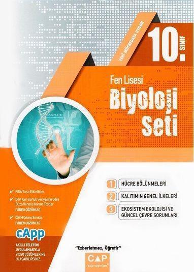 Çap Yayınları 10. Sınıf Fen Lisesi Biyoloji Seti Çap
