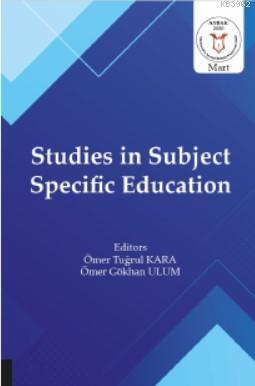 Studies in Subject Specific Education