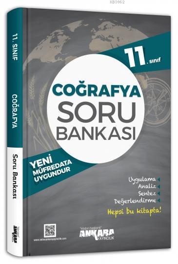 Ankara Yayınları 11. Sınıf Coğrafya Soru Bankası Ankara