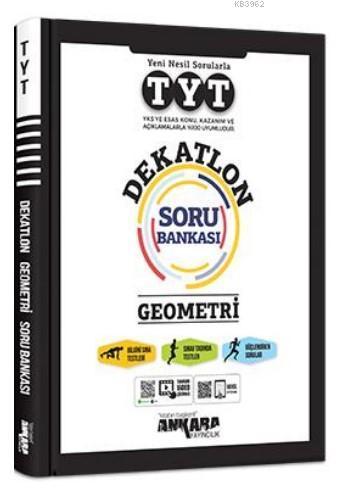 TYT Dekatlon Geometri Soru Bankası