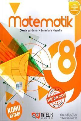 Nitelik Yayınları 8. Sınıf LGS Matematik Konu Kitabı Nitelik
