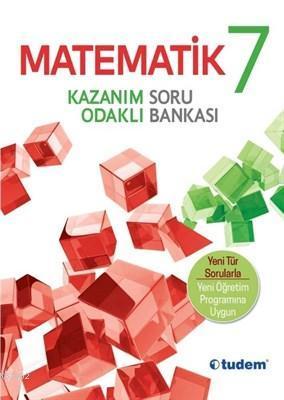 Tudem Yayınları 7. Sınıf Matematik Kazanım Odaklı Soru Bankası Tudem