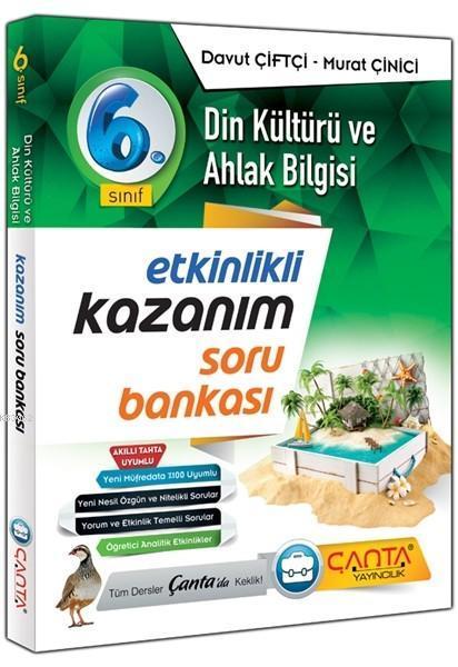 Çanta Yayınları 6. Sınıf Din Kültürü ve Ahlak Bilgisi Kazanım Soru Bankası Çanta