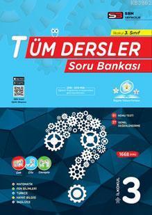 SBM Yayınları 3. Sınıf Tüm Dersler Soru Bankası SBM