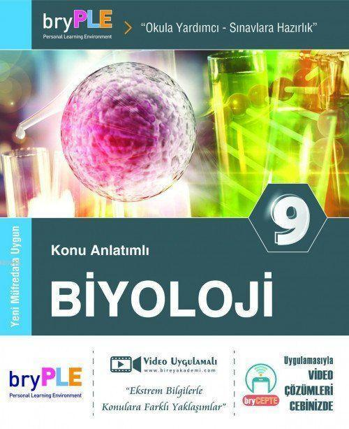 2019 9. Sınıf Biyoloji Konu Anlatımlı; Birey PLE