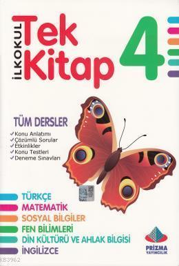 Tek Kitap 4. Sınıf Tüm Dersler