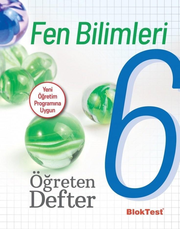BlokTest Yayınları 6. Sınıf Fen Bilimleri Öğreten Defter BlokTest
