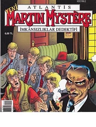 Martin Mystere İmkansızlıklar Dedektifi Sayı: 102 - Çoklu Yaşam Programı