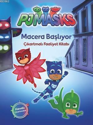 Pjmasks - Macera Başlıyor; Çıkartmalı Faaliyet Kitabı