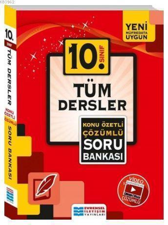 10.Sınıf Tüm Dersler Konu Özetli Çözümlü Soru Bankası