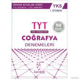 YKS 1.Oturum TYT Coğrafya Denemeleri