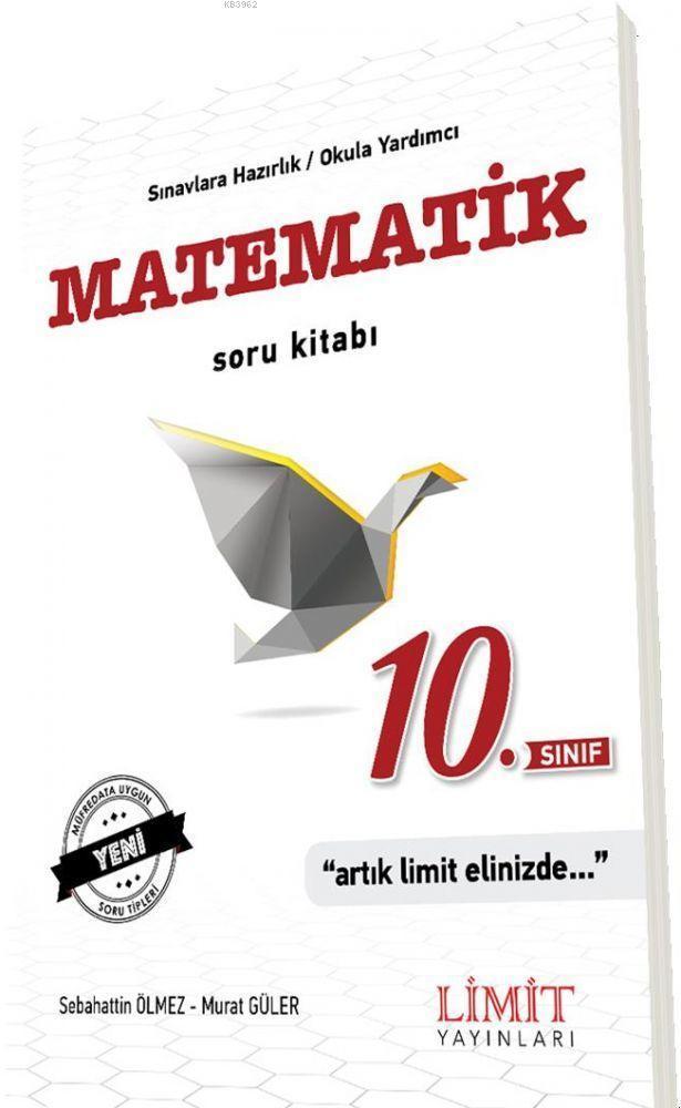 Limit Yayınları 10. Sınıf Matematik Soru Kitabı Limit